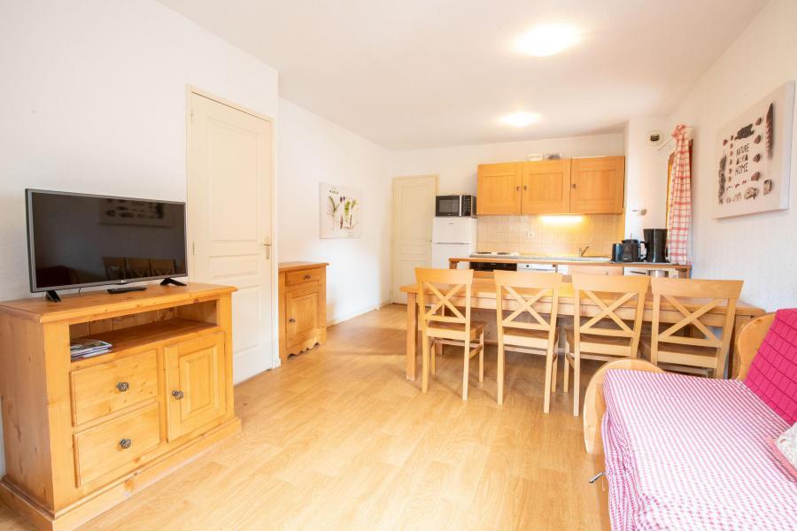 Vacances en montagne Appartement 3 pièces cabine 8 personnes (04) - Résidence le Belvédère Busseroles - Valfréjus - Séjour