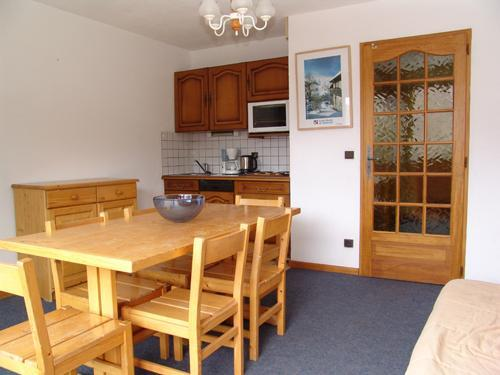 Vacances en montagne Appartement 2 pièces 6 personnes - Résidence le Biolley - Saint Martin de Belleville - Kitchenette