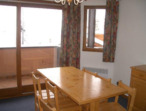 Vacances en montagne Appartement 2 pièces 6 personnes - Résidence le Biolley - Saint Martin de Belleville - Porte-fenêtre donnant sur balcon