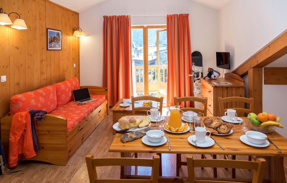 Vacances en montagne Résidence le Blanchot - Pralognan-la-Vanoise - Coin repas