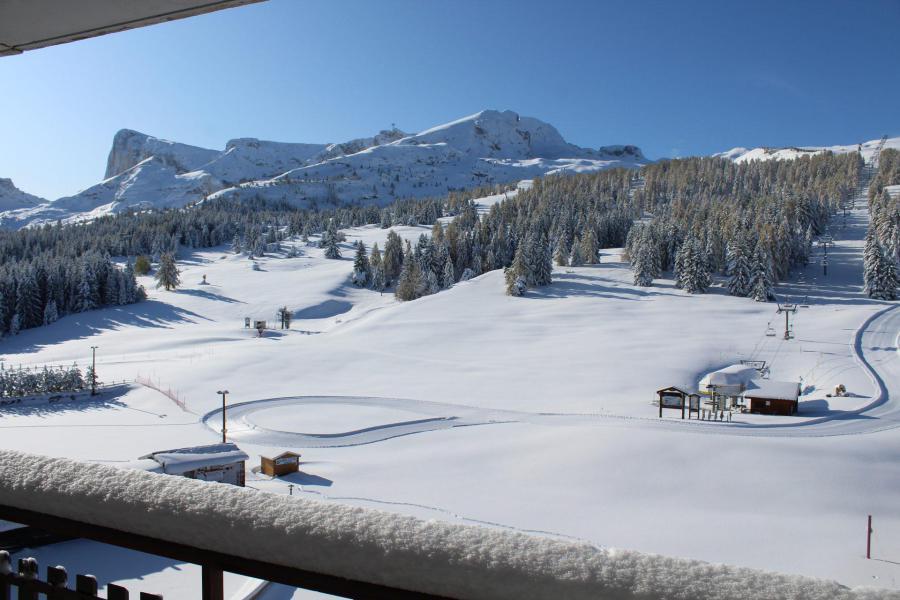 Vacaciones en montaña Estudio -espacio montaña- para 4 personas (BA0416S) - Résidence le Bois d'Aurouze - Superdévoluy
