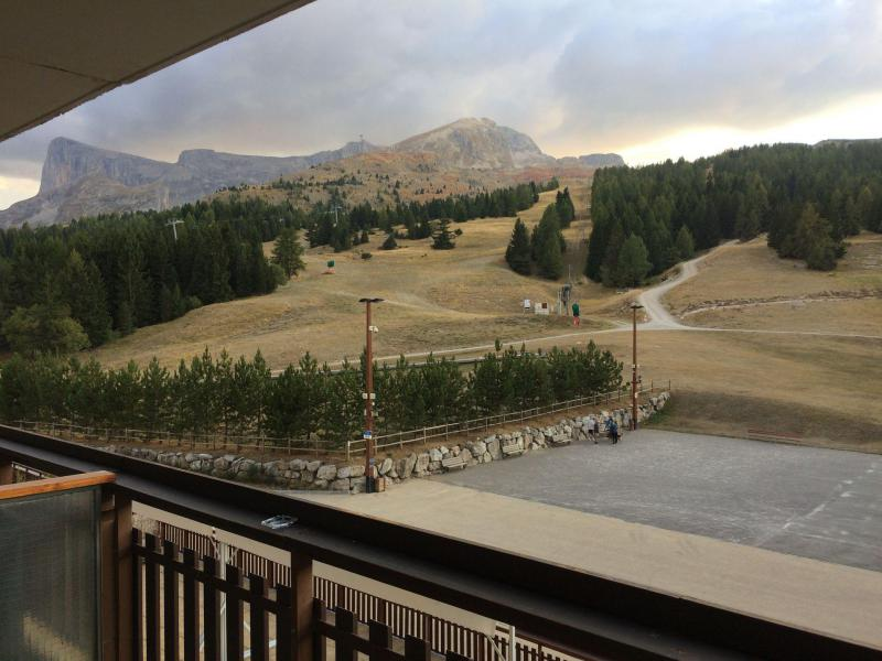 Vacaciones en montaña Estudio -espacio montaña- para 4 personas (BA0106S) - Résidence le Bois d'Aurouze - Superdévoluy - Balcón