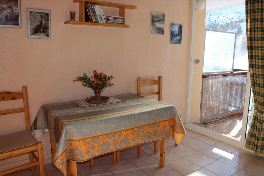 Vacaciones en montaña Estudio para 4 personas (BA1033S) - Résidence le Bois d'Aurouze - Superdévoluy - Camas superpuestas
