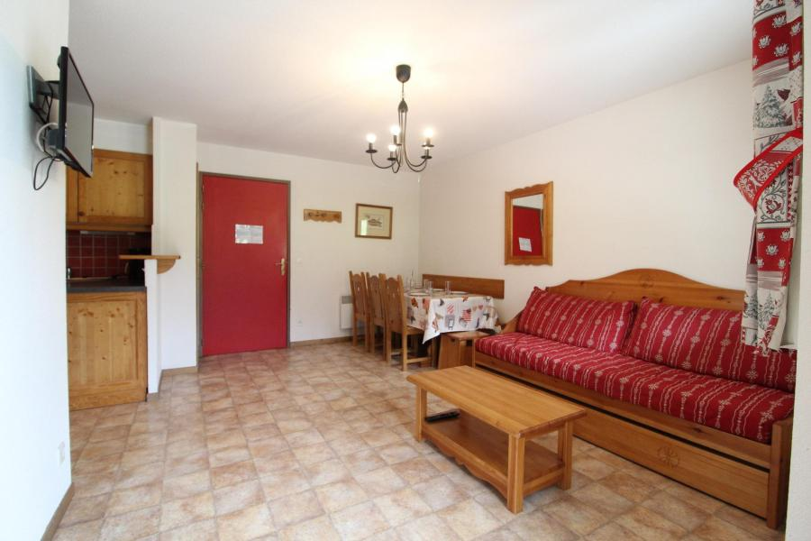 Holiday in mountain resort 3 room apartment 6 people (B33) - Résidence le Bonheur des Pistes - Val Cenis - Living room