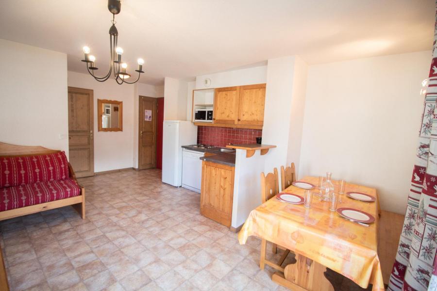 Vacances en montagne Appartement 2 pièces 5 personnes (B03) - Résidence le Bonheur des Pistes - Val Cenis - Table