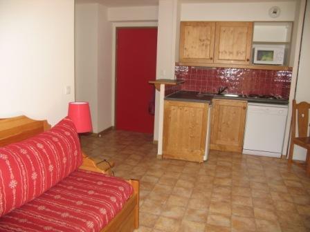 Vacances en montagne Appartement 2 pièces 6 personnes (B05) - Résidence le Bonheur des Pistes - Val Cenis - Kitchenette