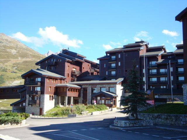 Location au ski Résidence le Boulevard - Méribel-Mottaret - Extérieur été