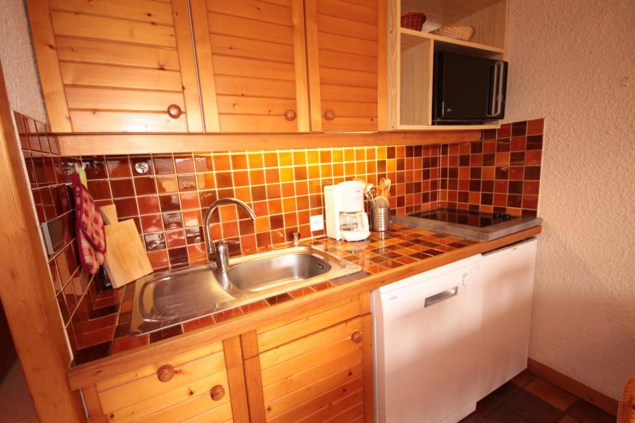 Vacaciones en montaña Apartamento cabina para 4 personas (006) - Résidence le Bouquetin - Les Saisies - Kitchenette