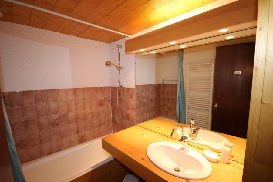 Vacaciones en montaña Apartamento cabina para 4 personas (006) - Résidence le Bouquetin - Les Saisies - Lavabo