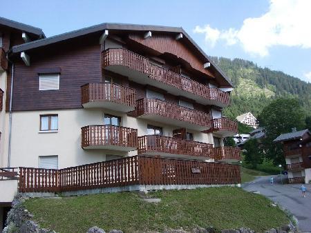 Wakacje w górach Apartament 1 pokojowy 4 osób (10) - Résidence le Bouquetin - les Jonquilles - Châtel - Na zewnątrz latem