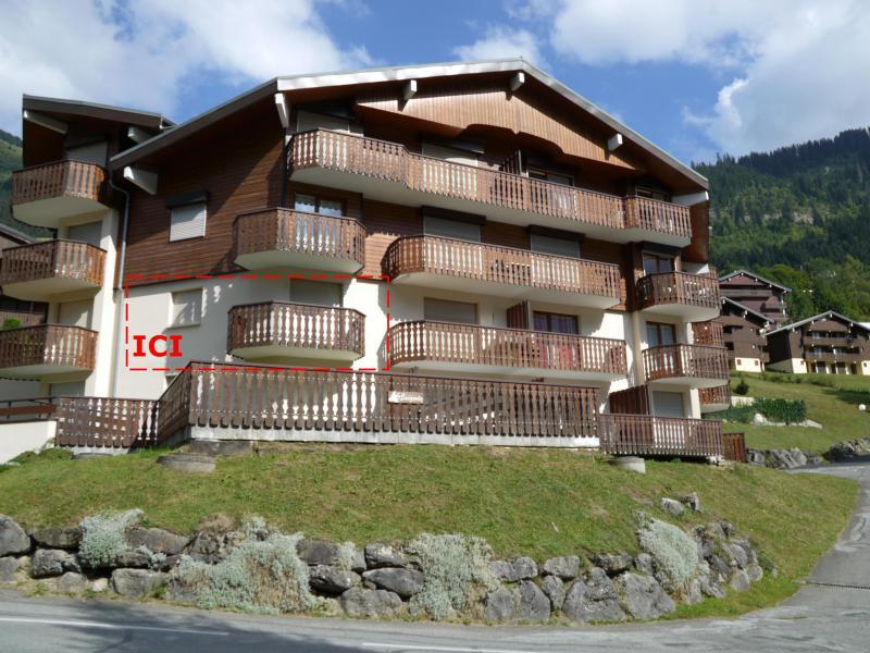 Vacaciones en montaña Logement 4 personnes - Résidence le Bouquetin - les Jonquilles - Châtel - Verano