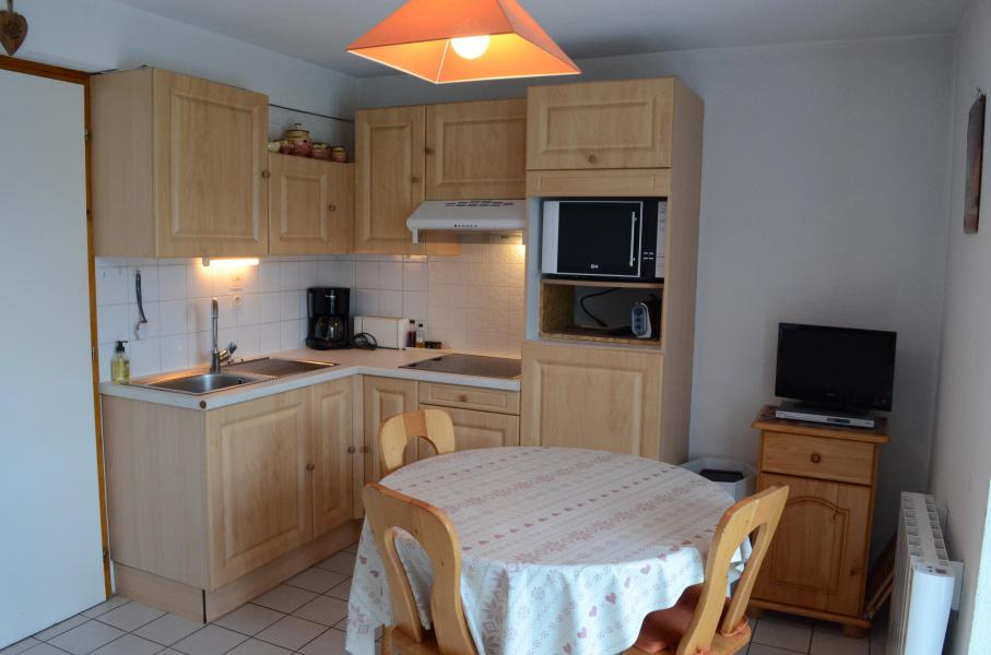 Wakacje w górach Apartament 2 pokojowy z alkową 5 osób (1) - Résidence le Bouquetin - les Jonquilles - Châtel - Pokój gościnny