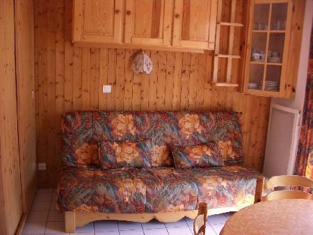 Vacaciones en montaña Apartamento 2 piezas para 4 personas (10) - Résidence le Bouquetin - les Jonquilles - Châtel - Sofá-cama