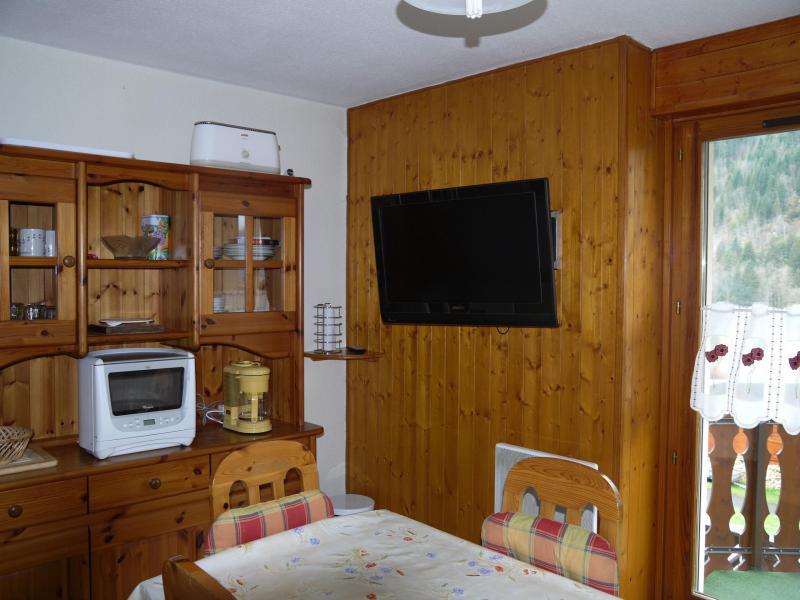 Vacaciones en montaña Logement 4 personnes - Résidence le Bouquetin - les Jonquilles - Châtel - Alojamiento