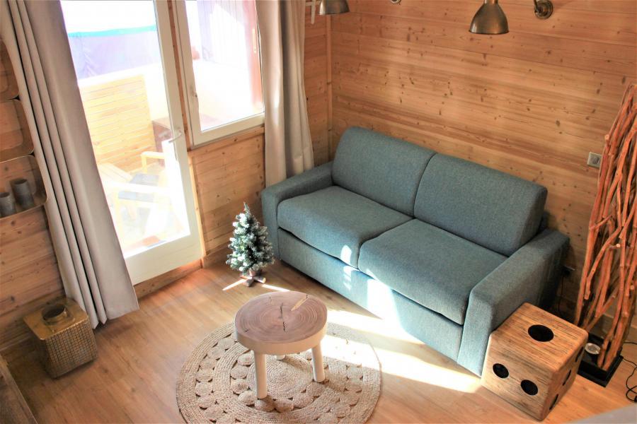 Vacances en montagne Appartement 4 pièces 8 personnes (3/1) - Résidence le Bourg Morel G - Valmorel - Séjour