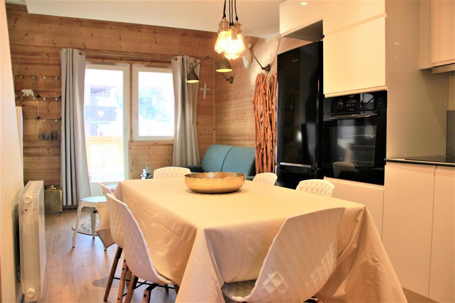 Vacances en montagne Appartement 4 pièces 8 personnes (3/1) - Résidence le Bourg Morel G - Valmorel - Table
