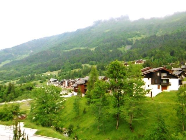 Vacances en montagne Résidence le Bourgeon - Valmorel - Extérieur été