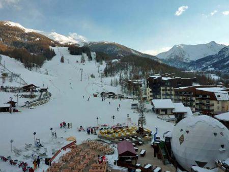 Vacances en montagne Studio 2 personnes (071) - Résidence le Boussolenc - Les Orres