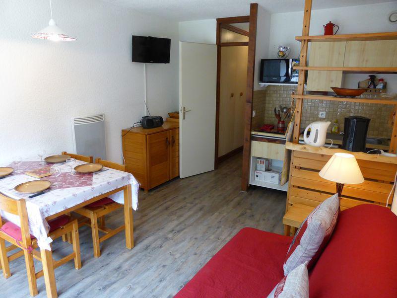 Holiday in mountain resort Studio sleeping corner 4 people (F1E) - Résidence le Brulaz - Les Contamines-Montjoie