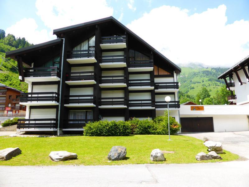 Urlaub in den Bergen Résidence le Brulaz - Les Contamines-Montjoie - Draußen im Sommer