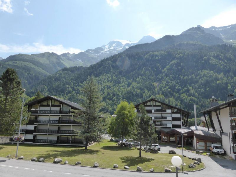 Аренда на лыжном курорте Квартира студия со спальней для 5 чел. (F1E) - Résidence le Brulaz - Les Contamines-Montjoie - летом под открытым небом