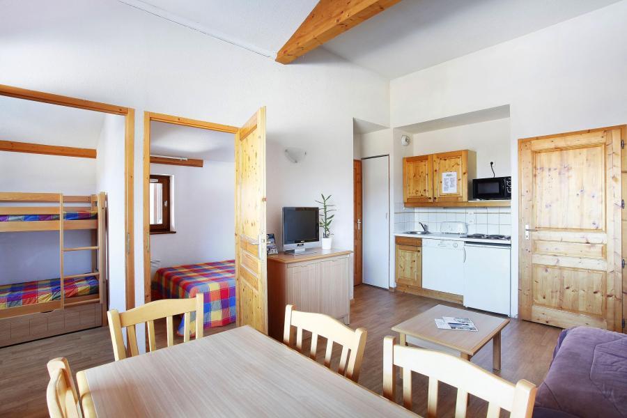 Vacances en montagne Résidence le Buet - Morillon - Cuisine ouverte
