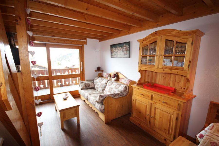 Каникулы в горах Апартаменты 3 комнат с мезонином 8 чел. (020) - Résidence le Byblos - Les Saisies - Салон