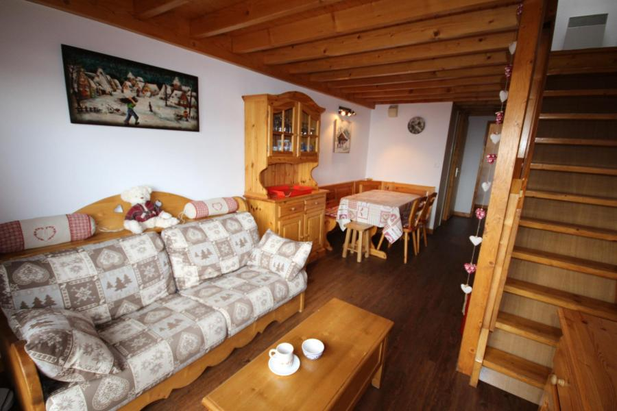 Vacaciones en montaña Apartamento 3 piezas mezzanine para 8 personas (020) - Résidence le Byblos - Les Saisies - Banqueta