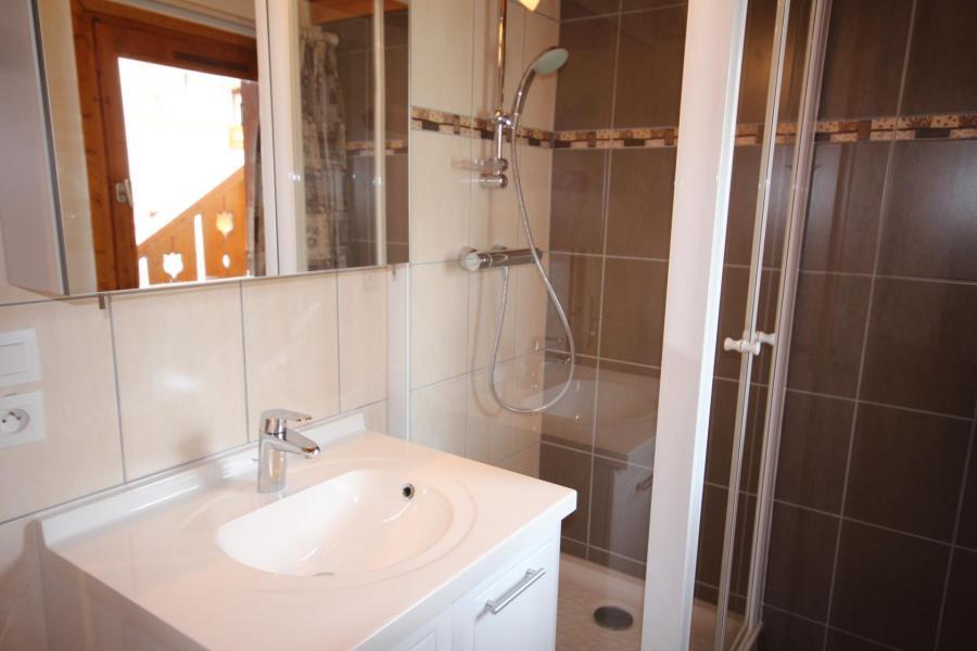 Vacaciones en montaña Apartamento 3 piezas mezzanine para 8 personas (020) - Résidence le Byblos - Les Saisies - Ducha