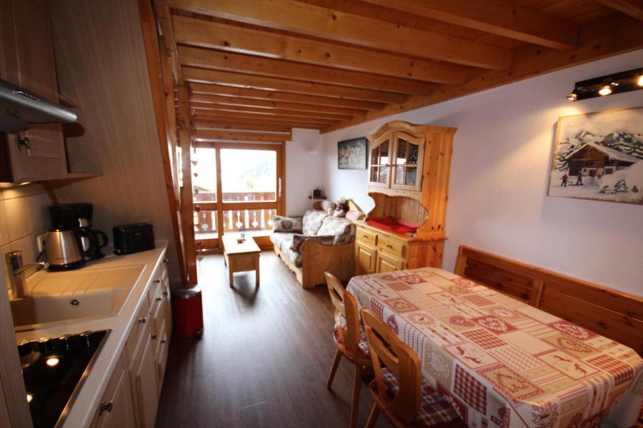 Vacaciones en montaña Apartamento 3 piezas mezzanine para 8 personas (020) - Résidence le Byblos - Les Saisies - Estancia