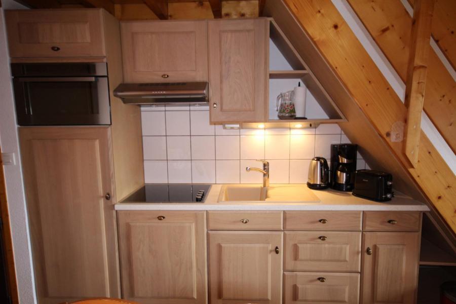 Vacaciones en montaña Apartamento 3 piezas mezzanine para 8 personas (020) - Résidence le Byblos - Les Saisies - Kitchenette