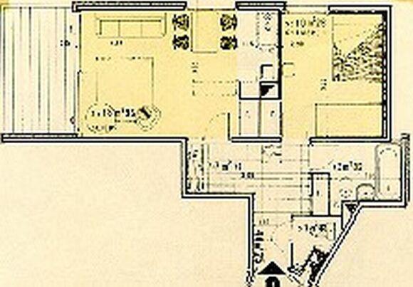 Vacances en montagne Appartement 2 pièces 6 personnes (406) - Résidence le Cap 2000 - Chamrousse - Plan