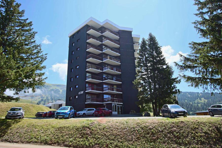Vacances en montagne Appartement 2 pièces 6 personnes (406) - Résidence le Cap 2000 - Chamrousse - Extérieur été