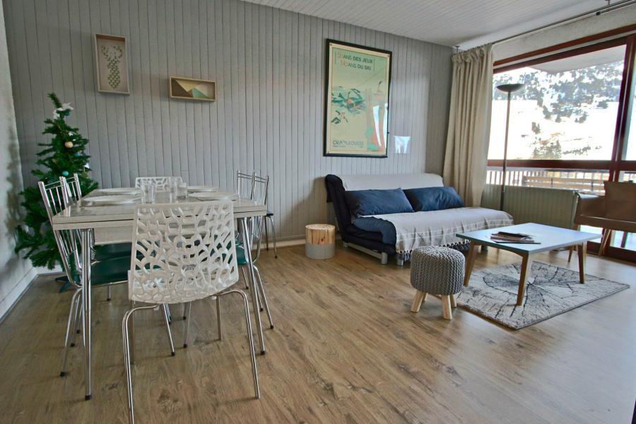 Vacances en montagne Appartement 2 pièces 6 personnes (105) - Résidence le Cap 2000 - Chamrousse - Séjour