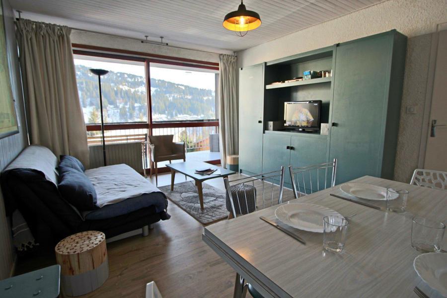 Vacances en montagne Appartement 2 pièces 6 personnes (105) - Résidence le Cap 2000 - Chamrousse - Table