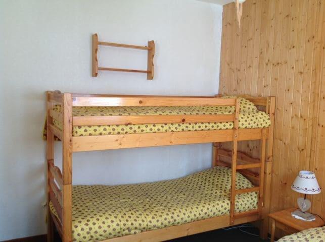 Vacaciones en montaña Apartamento 2 piezas para 5 personas (001) - Résidence le Caribou - Châtel - Camas superpuestas