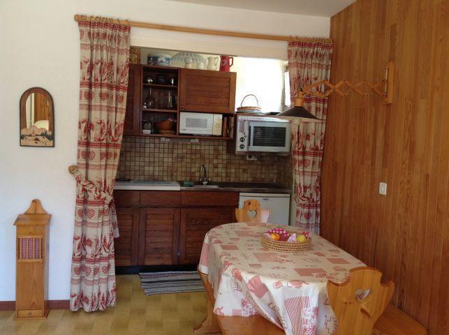 Vacaciones en montaña Apartamento 2 piezas para 5 personas (001) - Résidence le Caribou - Châtel - Cocina