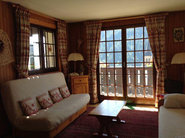Vacaciones en montaña Apartamento 2 piezas para 5 personas (001) - Résidence le Caribou - Châtel - Estancia