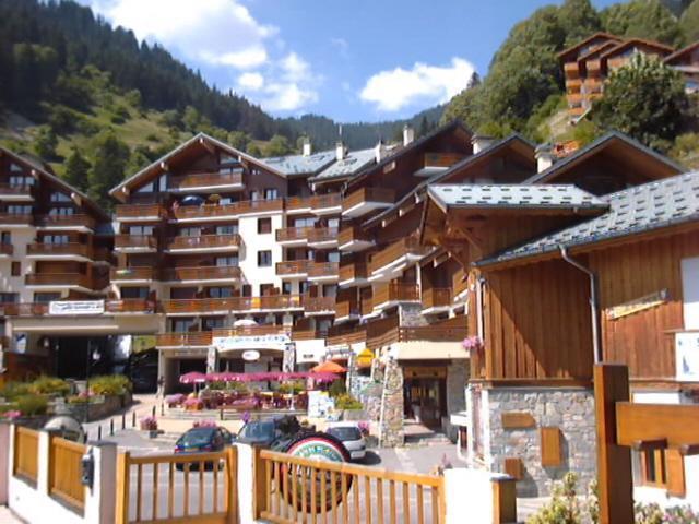 Location au ski Résidence le Centre - Champagny-en-Vanoise - Extérieur été