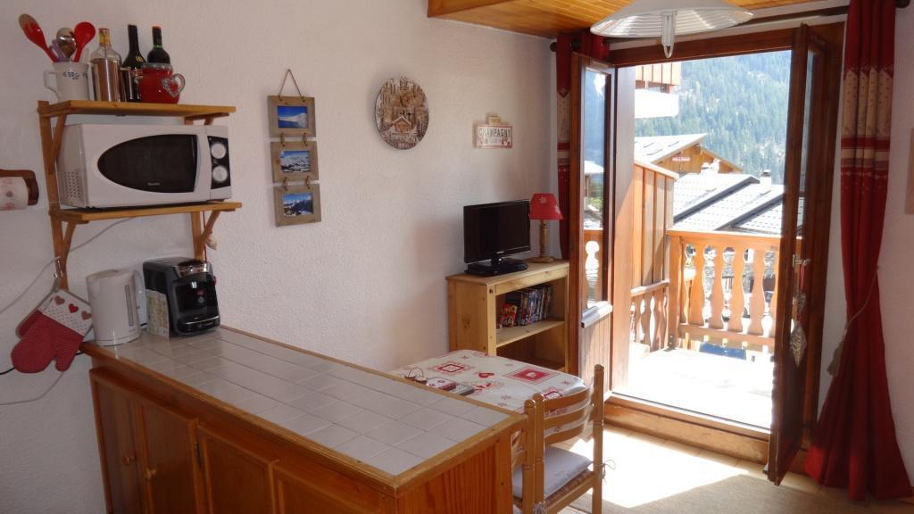 Vakantie in de bergen Studio bergnis 4 personen (028) - Résidence le Centre - Champagny-en-Vanoise