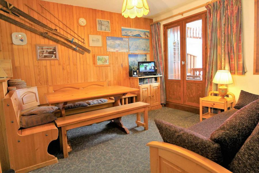 Vakantie in de bergen Appartement 2 kabine kamers 6 personen (034) - Résidence le Centre - Champagny-en-Vanoise - Woonkamer