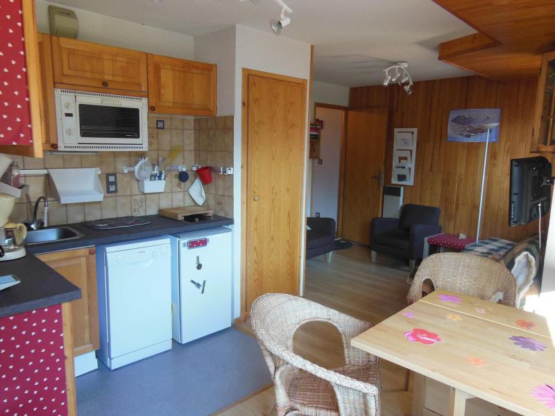 Vakantie in de bergen Appartement 2 kamers 4 personen (068) - Résidence le Centre - Champagny-en-Vanoise - Keukenblok