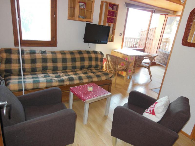 Vakantie in de bergen Appartement 2 kamers 4 personen (068) - Résidence le Centre - Champagny-en-Vanoise - Woonkamer