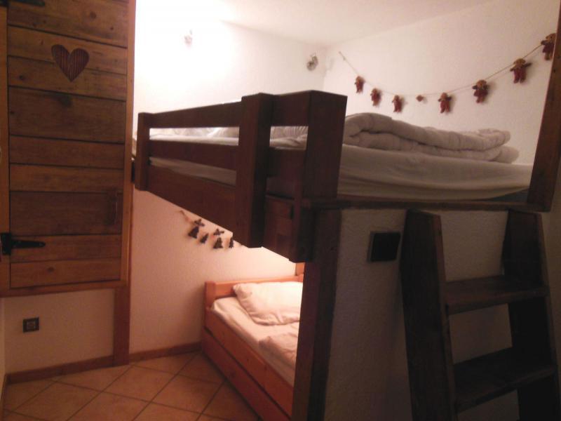 Vakantie in de bergen Appartement 2 kamers 5 personen (60) - Résidence le Centre - Champagny-en-Vanoise - Stapelbedden