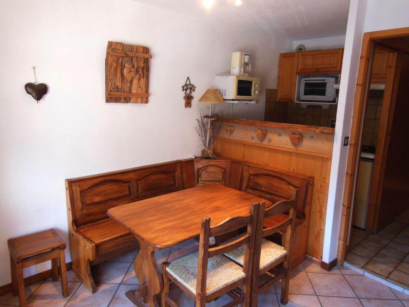 Vakantie in de bergen Appartement 2 kamers 5 personen (60) - Résidence le Centre - Champagny-en-Vanoise - Woonkamer