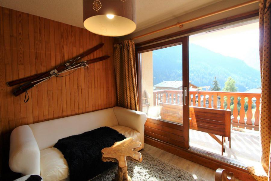 Vakantie in de bergen Appartement 2 kamers bergnis 4 personen (035) - Résidence le Centre - Champagny-en-Vanoise - Woonkamer
