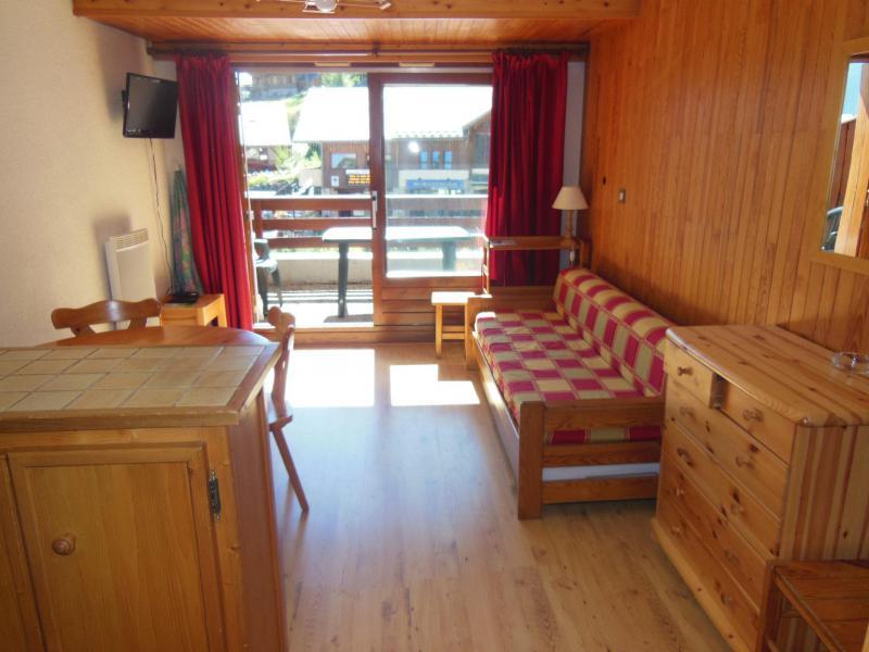 Vakantie in de bergen Appartement 2 kamers bergnis 5 personen (004) - Résidence le Centre - Champagny-en-Vanoise - Woonkamer