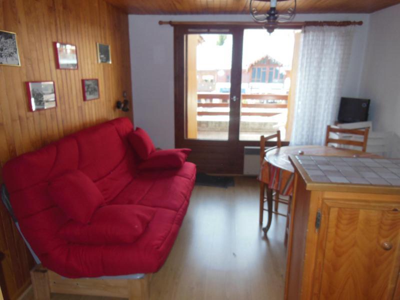 Vakantie in de bergen Appartement 2 kamers bergnis 5 personen (005) - Résidence le Centre - Champagny-en-Vanoise - Woonkamer