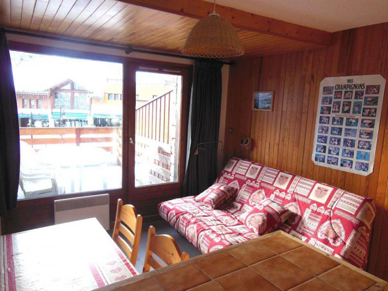 Vakantie in de bergen Appartement 2 kamers bergnis 5 personen (006) - Résidence le Centre - Champagny-en-Vanoise - Woonkamer
