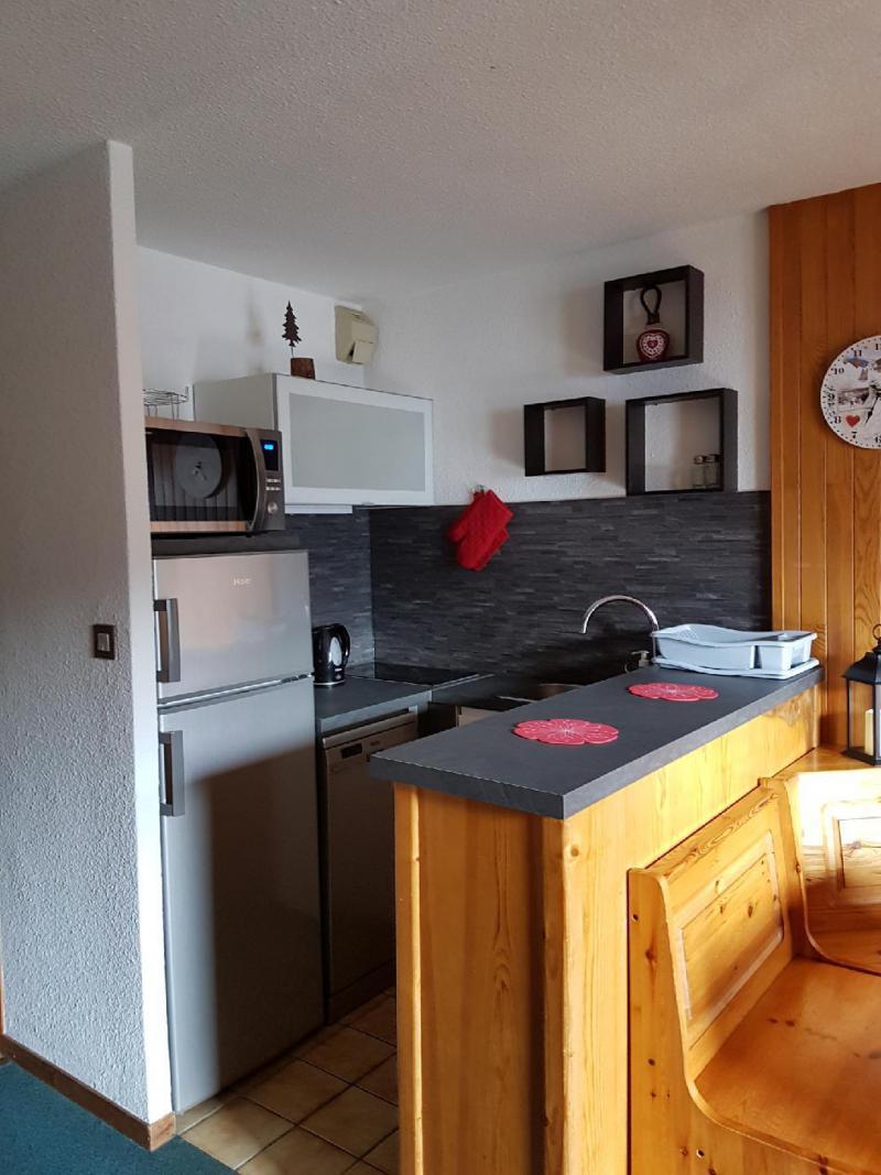 Vakantie in de bergen Appartement 3 kamers 6 personen (052) - Résidence le Centre - Champagny-en-Vanoise - Keukenblok